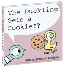 THE DUCKLING GETS A COOKIE!? HARDCOVER BOOK - Toyabella
