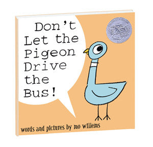Don't Let the Pigeon Drive the Bus! Hardcover Book - Toyabella.com