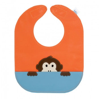 Monkey Leather Bib - Toyabella.com