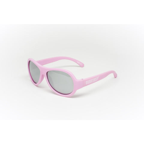Babiators Princess Pink Kids Sunglasses/ Silver Mirrored - Toyabella.com