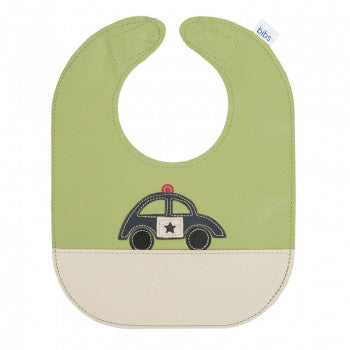 Police Car Leather Bib - Toyabella.com