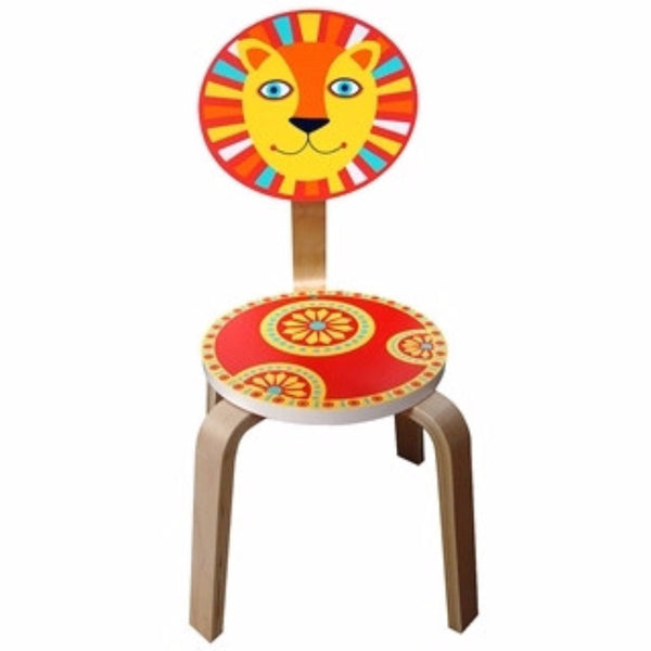 Sassafras Around the Globe Lion Chair - Toyabella.com
