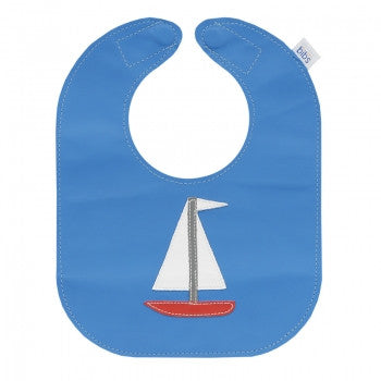 Sailboat Leather Bib - Toyabella.com