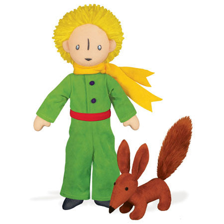 "THE LITTLE PRINCE & FOX 12"" SOFT TOY - Toyabella"