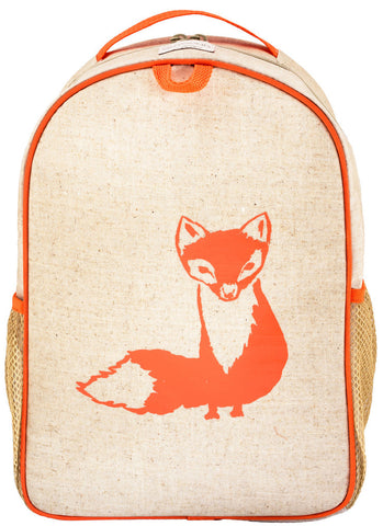 SoYoung Orange Fox Toddler Backpack - Toyabella.com