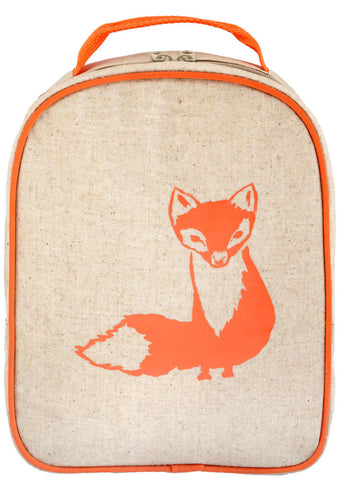 SoYoung Orange Fox Matching Lunch Box to Toddler Backpack - Toyabella.com