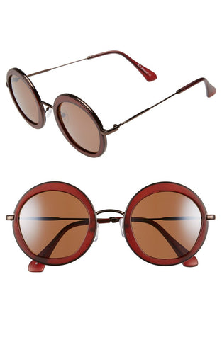"AJ Morgan ""Clique"" 50MM Round Sunglasses for Women - Toyabella.com"