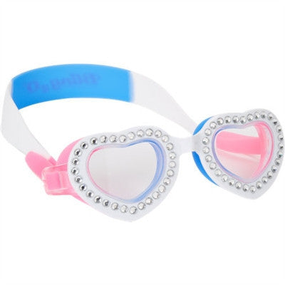 Bling2o Heart-Shape Blue Bubblegum Bling Goggles - Toyabella.com