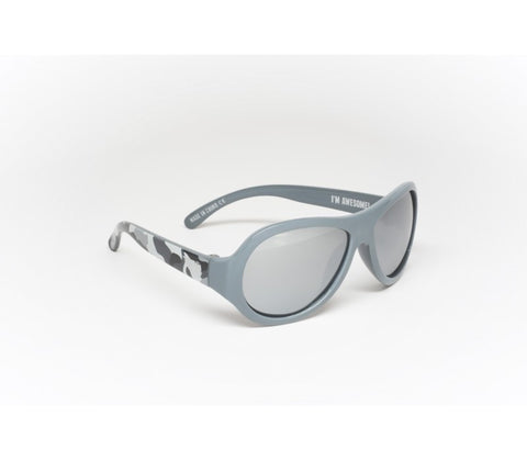 Babiators Polarized Galactic Grey Camo Kids Sunglasses - Toyabella.com