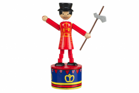 Beefeater Push Up Toy By Orange Tree Toys - Toyabella.com