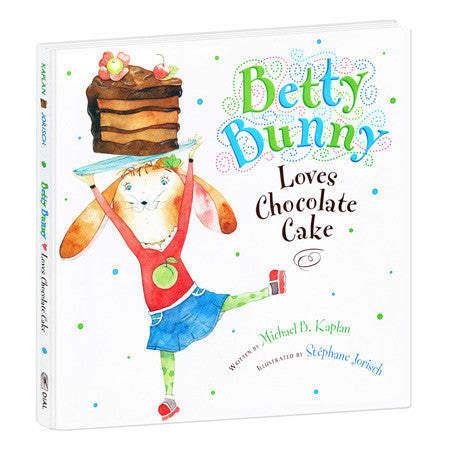 BETTY BUNNY LOVES CHOCOLATE CAKE HARDCOVER BOOK - Toyabella.com