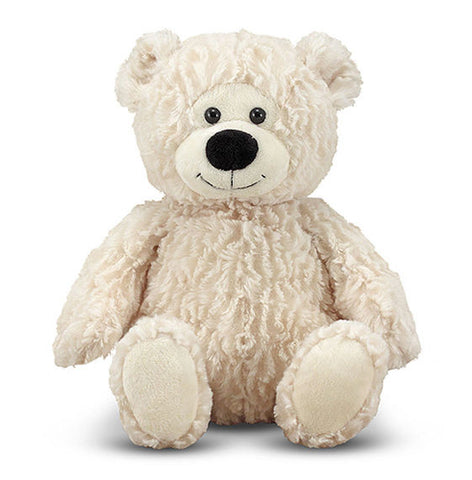 Melissa & Doug Blizzard Teddy Bear Stuffed Animal - Toyabella
