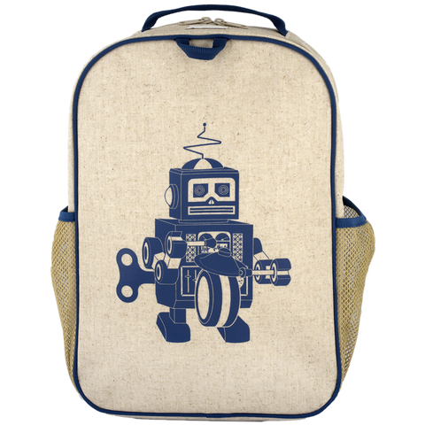 SoYoung Blue Robot Grade School Backpack - Toyabella.com