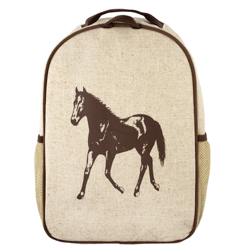 SoYoung Brown Horse Toddler Backpack - Toyabella.com