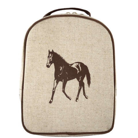 SoYoung Brown Horse Matching Lunch Box to Toddler Backpack - Toyabella.com