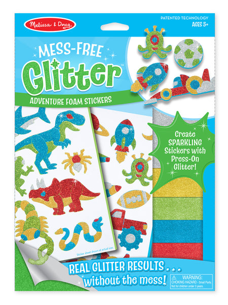 Melissa & Doug Adventure Foam Stickers Book - ON the GO Craft Activity - Toyabella  - 1