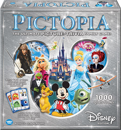 Pictopia Family Trivia Game: Disney Edition - Toyabella  - 1