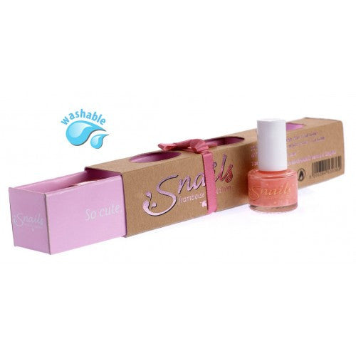 Snails Nails Gift Box - 3 mini collection - FRAMBOISE - Toyabella.com