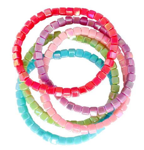 Great Pretenders Tints Tones Rainbow 5pc Bracelet Set - Toyabella.com