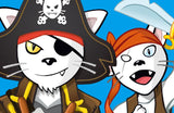 Pirates Flying Cats - Toyabella.com