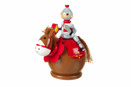 Handcrafted Knight on Horseback Money Box By Orange Tree Toys - Toyabella.com