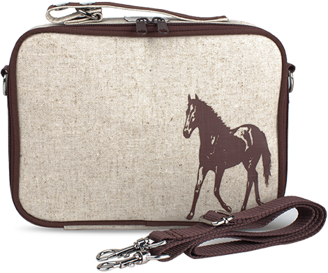 SoYoung Brown Horse Lunch Box - Toyabella.com