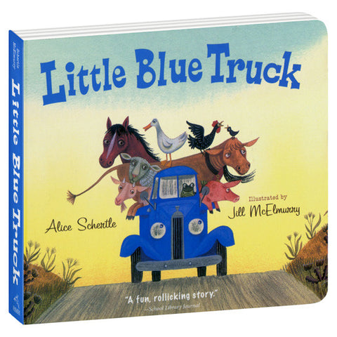 LITTLE BLUE TRUCK BOARD BOOK - Toyabella