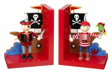 Pirate Bookends by Orange Tree Toys - Toyabella.com
