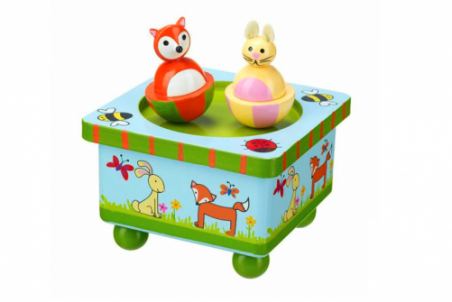 Woodland Music Box by Orange Tree Toys - Toyabella.com