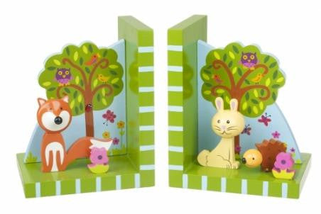 Woodlands Bookends by Orange Tree Toys - Toyabella.com