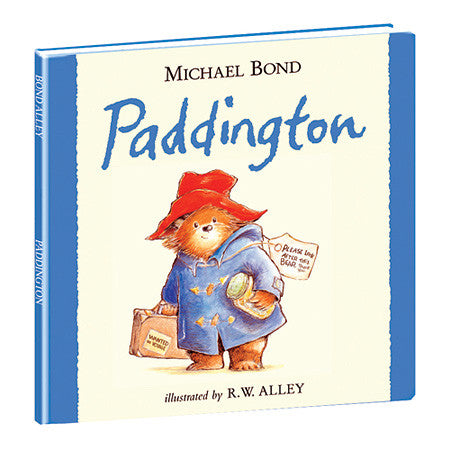 PADDINGTON BEAR HARDCOVER BOOK - Toyabella