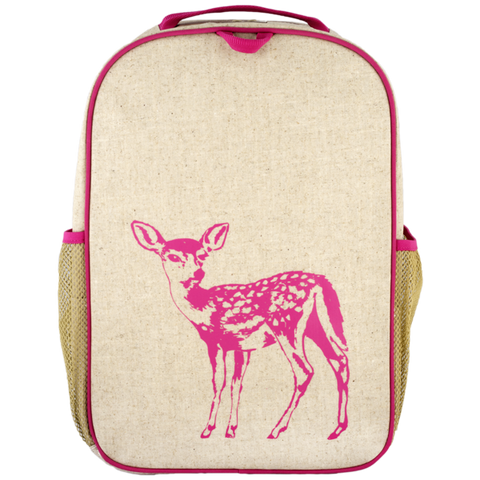 SoYoung Pink Fawn Grade School Backpack - Toyabella.com