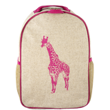 SoYoung Pink Giraffe Toddler Backpack - Toyabella.com