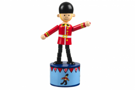 Soldier Push Up Toy by Orange Tree Toys - Toyabella.com