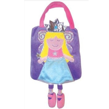 Sassafras Plush Fairy Princess Bag - Toyabella.com