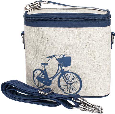 SoYoung Blue Bicycle Small Cooler Bag - Toyabella.com