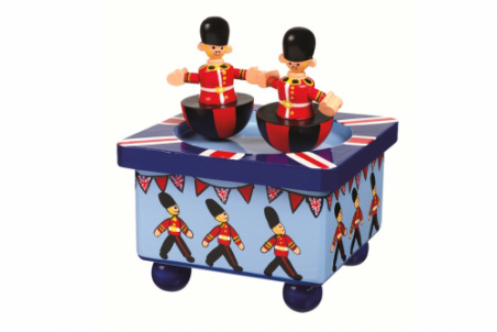 Soldier Music Box by Orange Tree Toys - Toyabella.com