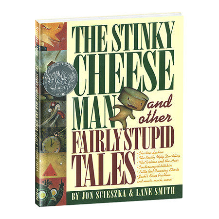 THE STINKY CHEESE MAN AND OTHER FAIRLY STUPID TALES HARDCOVER BOOK - Toyabella