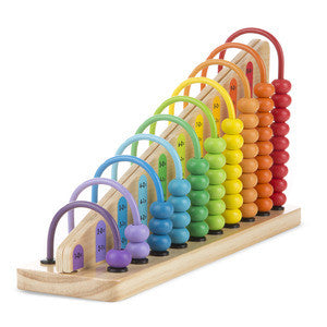 Melissa & Doug Add & Subtract Abacus - Toyabella  - 1