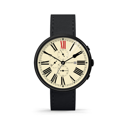 Newgate Watches THE SHIP (BLACK CASE, BLACK STRAP) - Toyabella  - 1