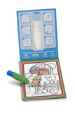 Melissa & Doug Animals Water Wow Book - ON the GO Travel Activity - Toyabella  - 3