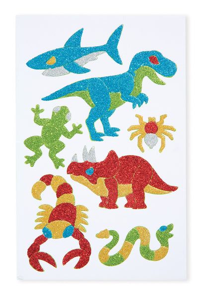 Melissa & Doug Adventure Foam Stickers Book - ON the GO Craft Activity - Toyabella  - 4