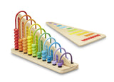 Melissa & Doug Add & Subtract Abacus - Toyabella  - 3
