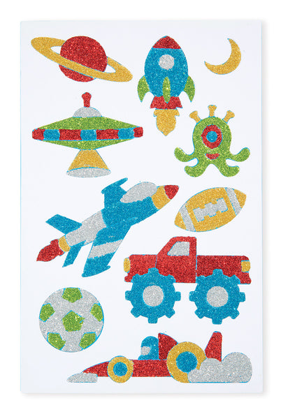 Melissa & Doug Adventure Foam Stickers Book - ON the GO Craft Activity - Toyabella  - 3