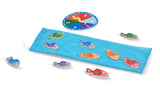 Melissa & Doug Catch and Count Magnetic Fishing Rod Game - Toyabella  - 4