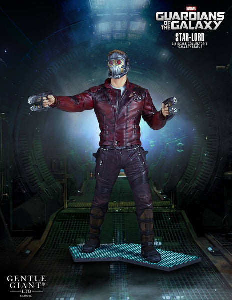 Gentle giant guardians of the Galaxy Star-Lord Statue