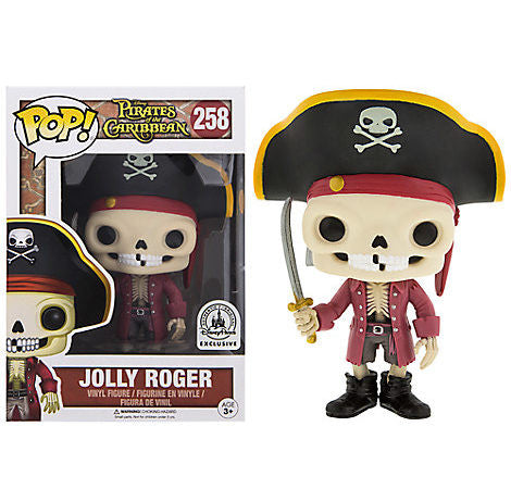 Disney Theme Parks exclusive Funko Pop Vinyl Jolly Roger