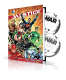 Pre Ordering DC Comics HC Book ad DVD