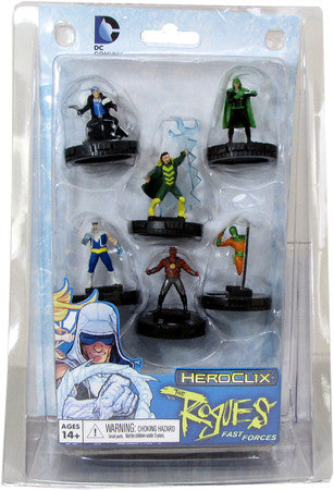 Heroclix DC The Rogues Fast Forces
