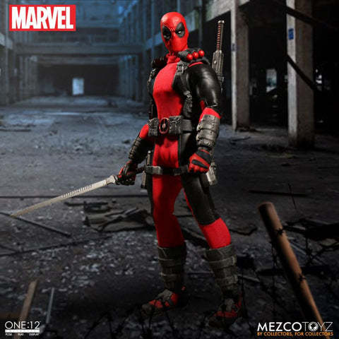 Mezco marvel DEADPOOL one:12 figure